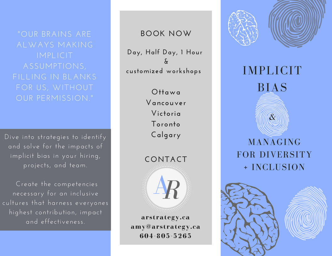 Implicit Bias Brochure